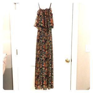 Paint splatter summer dress